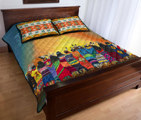Image of Native American Quilt Bed Set - 1st Iceland