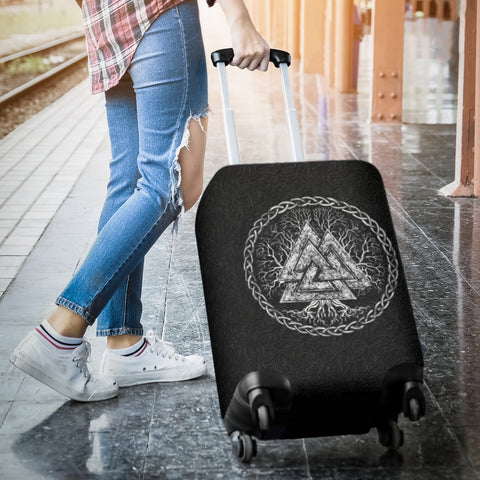 Image of 1stIceland Viking Luggage Cover, Valknut Yggdrasil K7 - 1st Iceland
