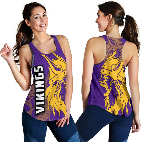 Vikings Women's Racerback Tank TH4 - 1st Iceland