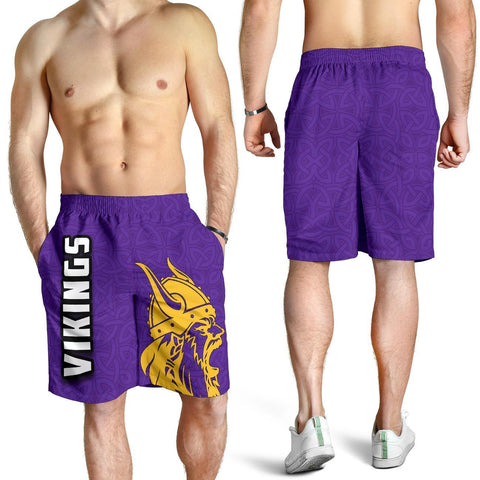 Vikings All Over Print Men's Shorts TH4 - 1st Iceland