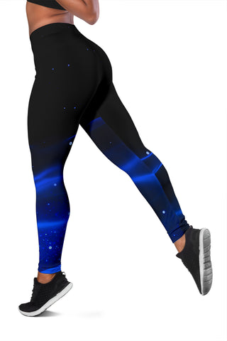 1stIceland Evil Eye Women Leggings Original Style - Blue K8 - 1st Iceland