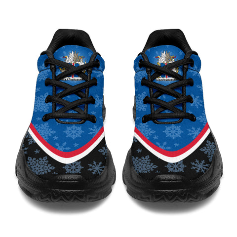 1stIceland Chunky Sneakers, Iceland Flag Coat Of Arms TH0 2 - 1st Iceland