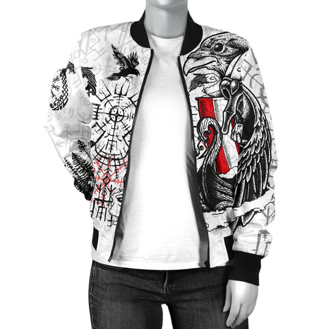 1stIceland Viking Women's Bomber Jacket Drakkar TH12