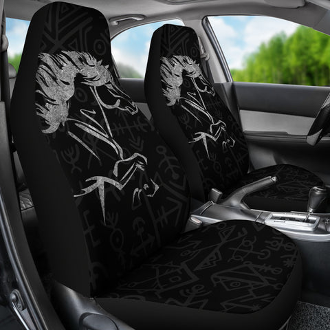 1stIceland Viking Car Seat Covers, Icelandic Horse Coat Of Arms K4 - 1st Iceland