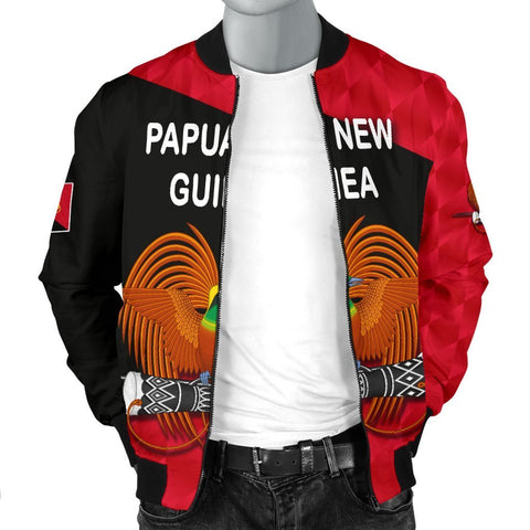 Papua New Guinea Rugby Men Bomber Jacket K8 - 1st Iceland
