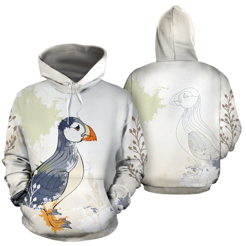 1stIceland Pullover Hoodie, Iceland Puffin - 1st Iceland