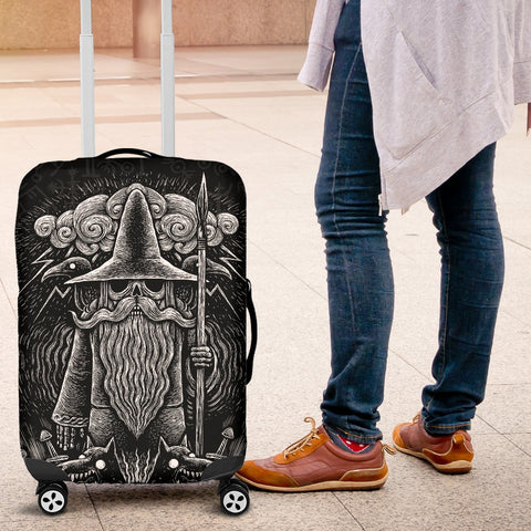 1stIceland Viking Luggage Cover, Odin Norse Mythology Fenrir A2 - 1st Iceland