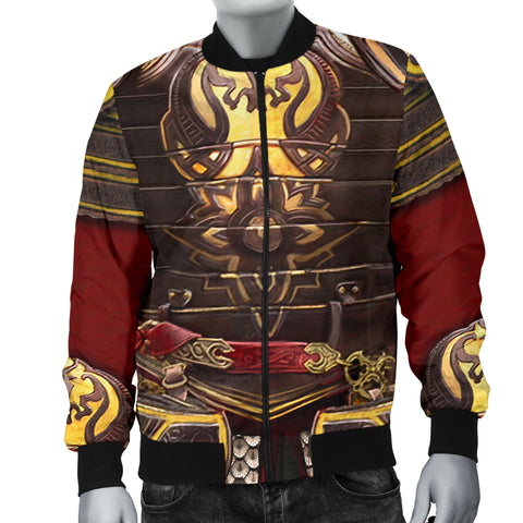 1stIceland Men's Bomber Jacket, 3D King Theore Armor Th00 - 1st Iceland