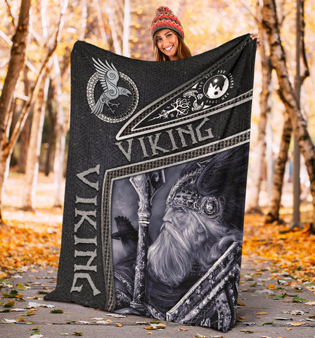 1st Iceland Viking God Metal Premium Blanket TH12 - 1st Iceland
