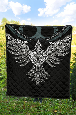 Image of 1stIceland Viking Premium Quilt, Raven Th00 - 1st Iceland