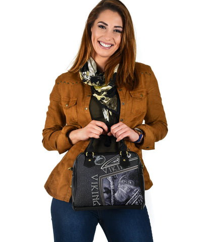 1st Iceland Viking God Metal Shoulder Handbag TH12