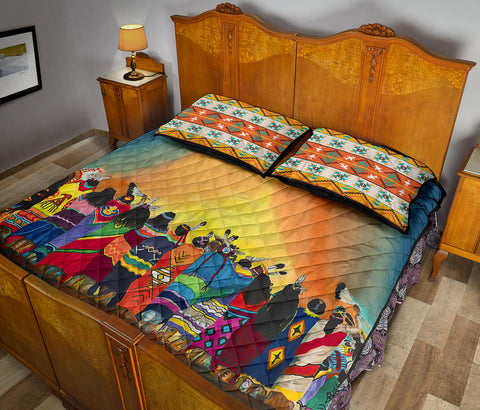 Native American Quilt Bed Set - 1st Iceland