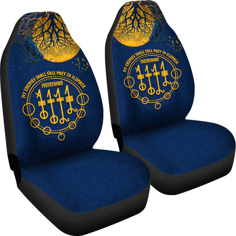 1stIceland Viking Svefnthorn Car Seat Covers, Raven The Moonlight K13 - 1st Iceland