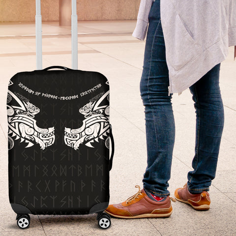 1stIceland Viking Luggage Covers, Fenrir Tattoo The Ragnarok K4 - 1st Iceland