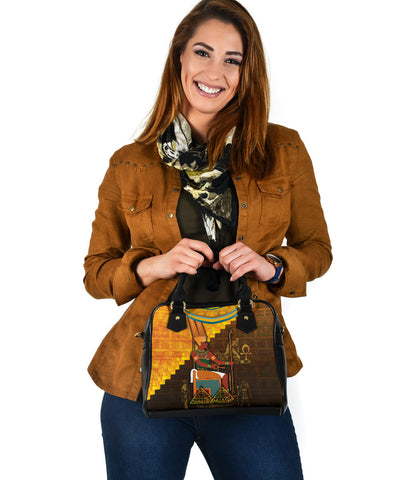 1stIceland Amun Shoulder Handbag Egyptian God K8 - 1st Iceland