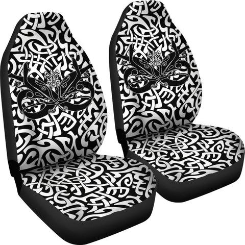 1stIceland Celtic Car Seat Covers, Celtics Dragon Tattoo Th00 - White - 1st Iceland