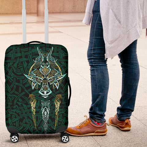 1stIceland Viking Luggage Covers, Fenrir The Vikings Wolves Th00 - 1st Iceland
