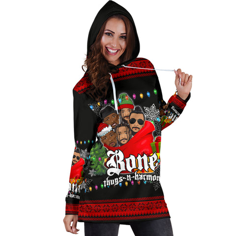 Image of Bone Thugs-N-Harmony Women's Hoodie Dress Christmas TH4 - 1st Iceland