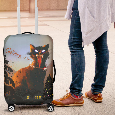 1stIceland Luggage Cover, Yule Cat 01 - 1st Iceland