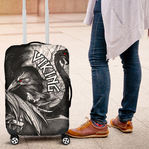 1stIceland Viking Luggage Covers Raven And Drakkar TH12 - 1st Iceland