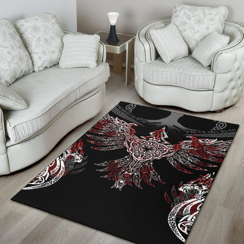 1stIceland Viking Area Rug, Raven Th00 - 1st Iceland