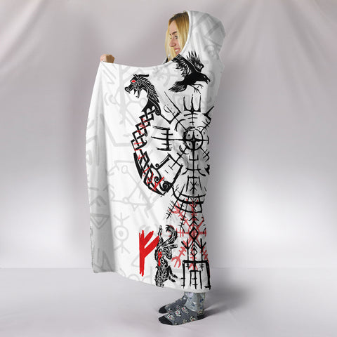1stIceland Viking Hooded Blanket Drakkar | 1stIceland.com