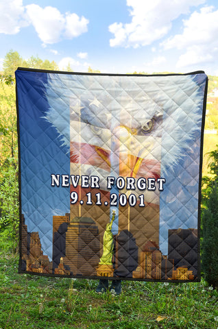 1stIceland American Firefighters Premium Quilt 9.11.01 Gratitude K8 - 1st Iceland
