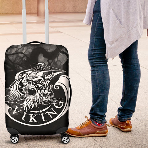 1stIceland Viking Luggage Cover, Odin Norse Mythology Drakkar A2 - 1st Iceland