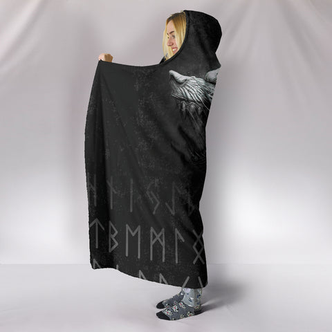 1stIceland American Viking Fenrir Hooded Blanket TH12 - 1st Iceland