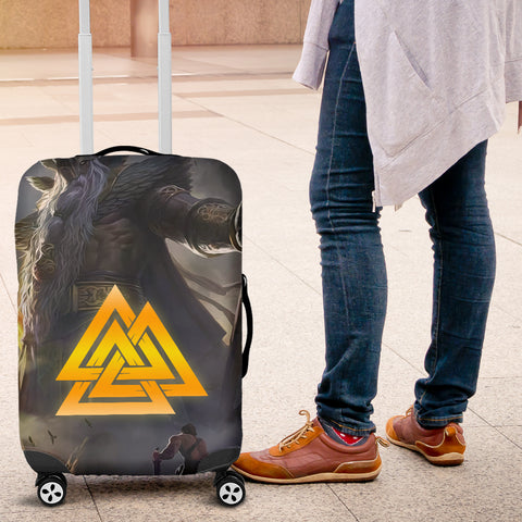 1stIceland Viking Odin Valhalla 3D Luggage Covers Valknut K8 - 1st Iceland