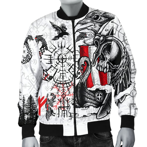 1stIceland Viking Men's Bomber Jacket Drakkar | 1stIceland.com