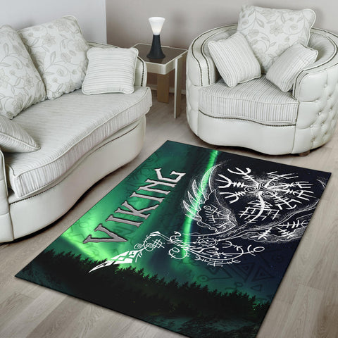 1stIceland Viking Area Rug Northern Lights TH12