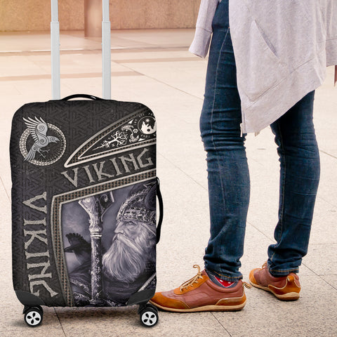 Image of 1st Iceland Viking God Metal Luggage Covers TH12 - 1st Iceland