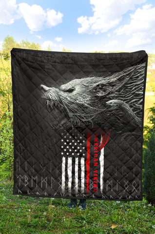Image of 1stIceland American Viking Fenrir Premium Quilt TH12 - 1st Iceland
