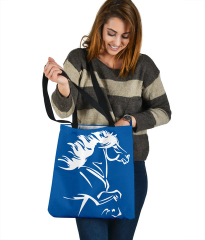 Image of 1stIceland Tote Bag, Icelandic Horse Coat Of Arms K4