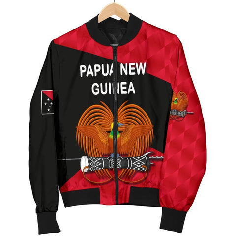 Image of Papua New Guinea Rugby Men Bomber Jacket K8 - 1st Iceland
