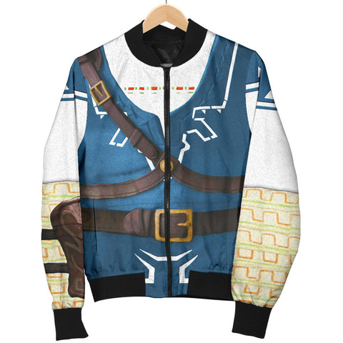 1sticeland Bomber Jacket for Women, 3D Link Costume All Over Print - 1st Iceland