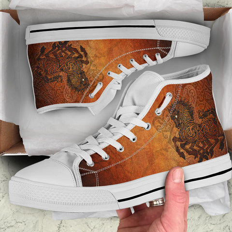 1stIceland Viking Sleipnir High Top Shoes TH4 - 1st Iceland