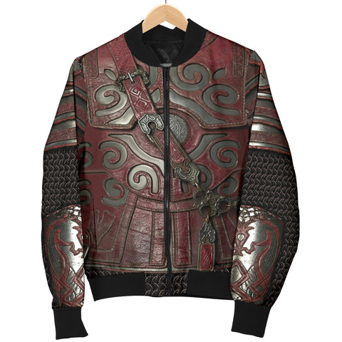 1stIceland Women's Bomber Jacket, 3D Lord of the Rings Armor Th00 - 1st Iceland
