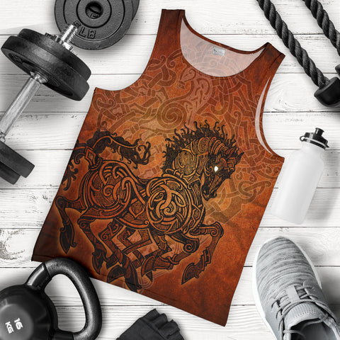1stIceland Viking Sleipnir Men's Tank Top TH4 - 1st Iceland