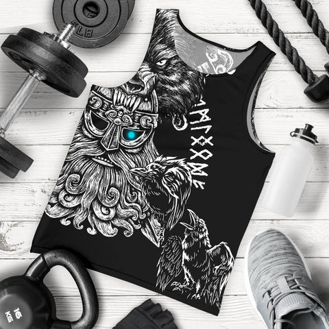 Image of 1stIceland Odin Viking Tattoo Men's Tank Top TH12 - 1st Iceland