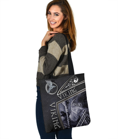 1st Iceland Viking God Metal Tote Bag TH12