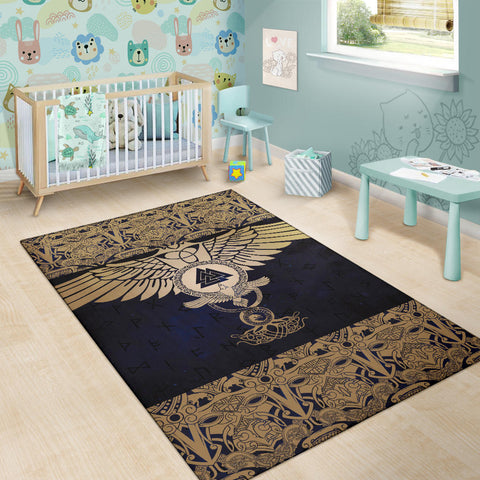 1stIceland Viking Area Rug, Wolf Celtic Galaxy J1 - 1st Iceland