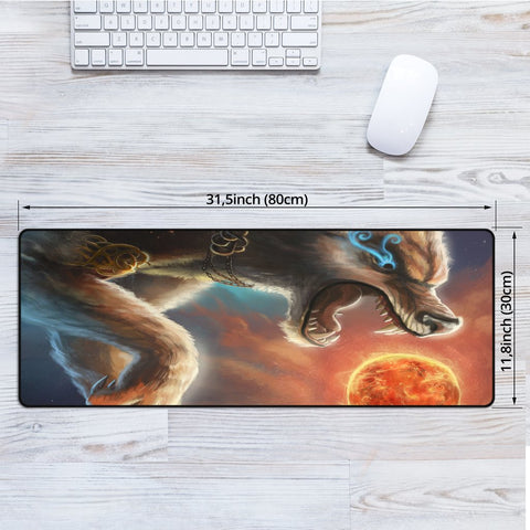 1stIceland Viking Mouse Mat, Fenrir Norse Wolf K5 - 1st Iceland