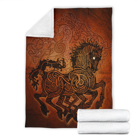 Image of 1stIceland Viking Sleipnir Premium Blanket TH4 - 1st Iceland