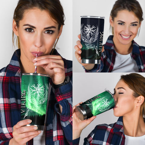 1stIceland Viking Tumbler Northern Lights TH12
