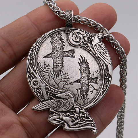 Viking Odin Ravens Necklace TH17 - 1st Iceland