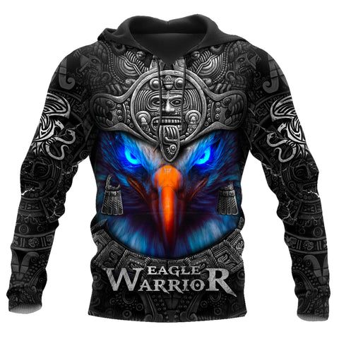 1st Iceland Eagle Warior Aztec Hoodie TH12 - 1st Iceland