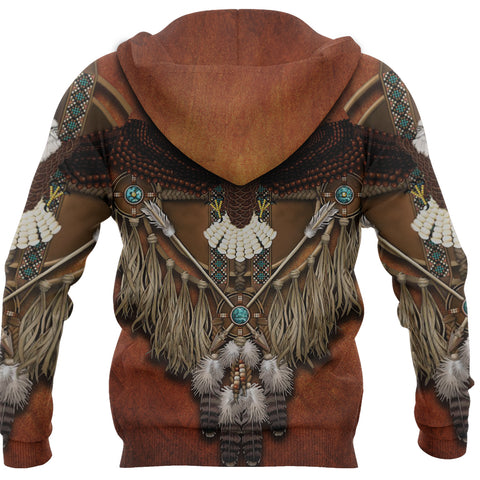 1stIceland Native American Hoodie Eagles Dreamcatcher TH4 - 1st Iceland