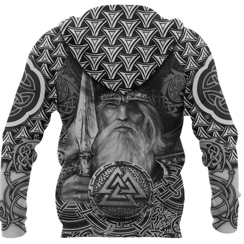 Viking Warriors Hoodie Fenrir Celtic Tattoo TH4 - 1st Iceland